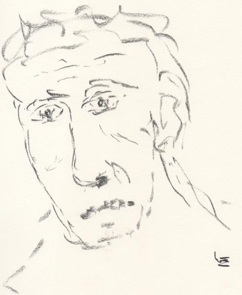 Zeichnung Burnout